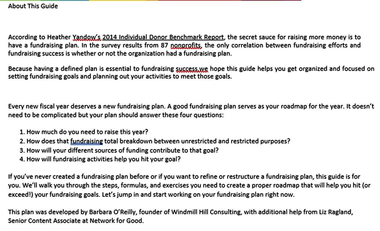 Templates How to Create a Fundraisin