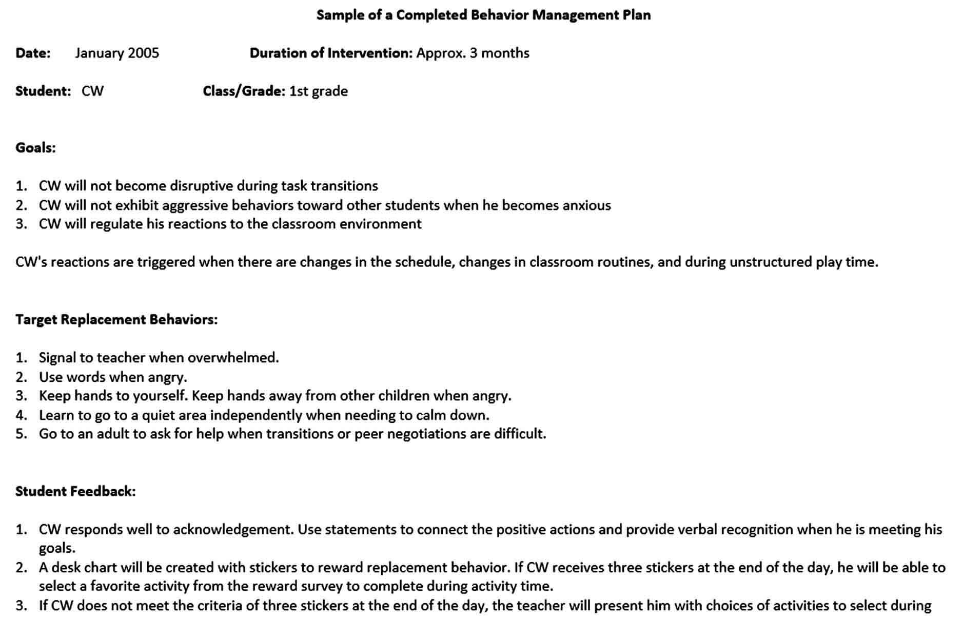 Templates sample managemen