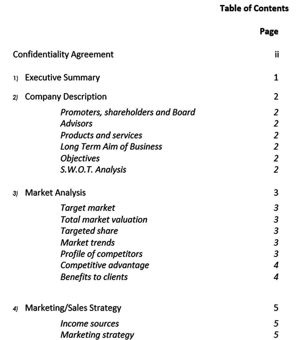 Templates small business plan template download in m