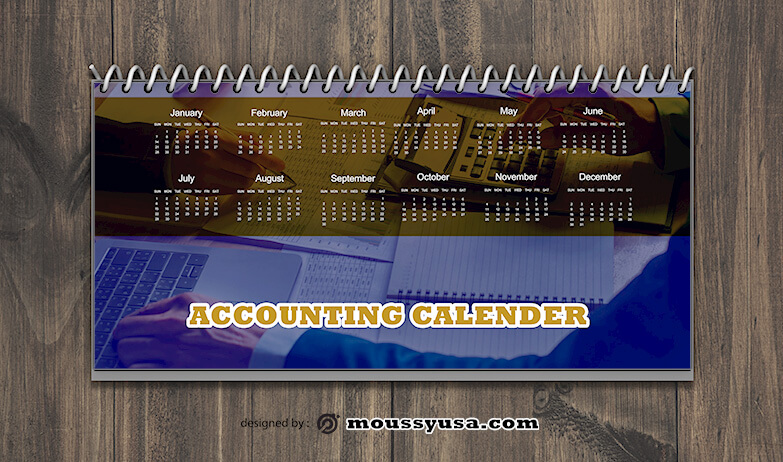 Accounting Calender Design Ideas