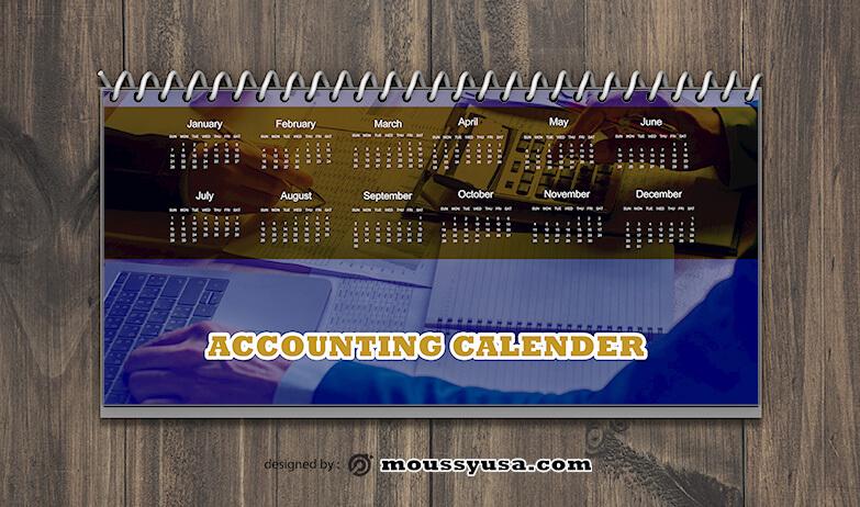 Accounting Calender Design Ideas