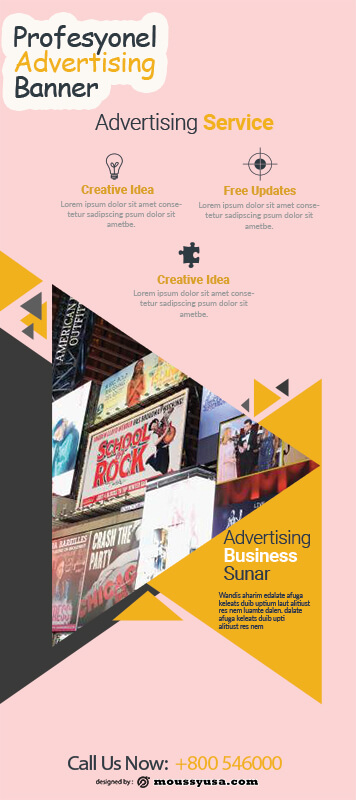 Advertising Banner Template Ideas
