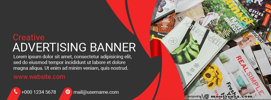 Advertising Banner Template Sample
