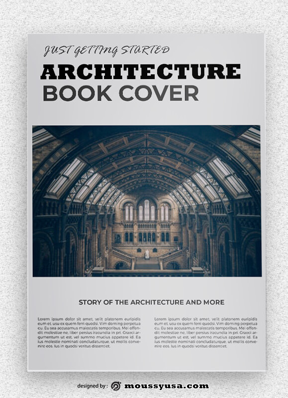 Architecture Book Cover Design Ideas