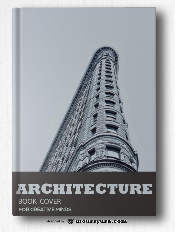 Architecture Book Cover Design Template