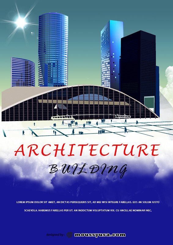 Architecture Poster Template Sample