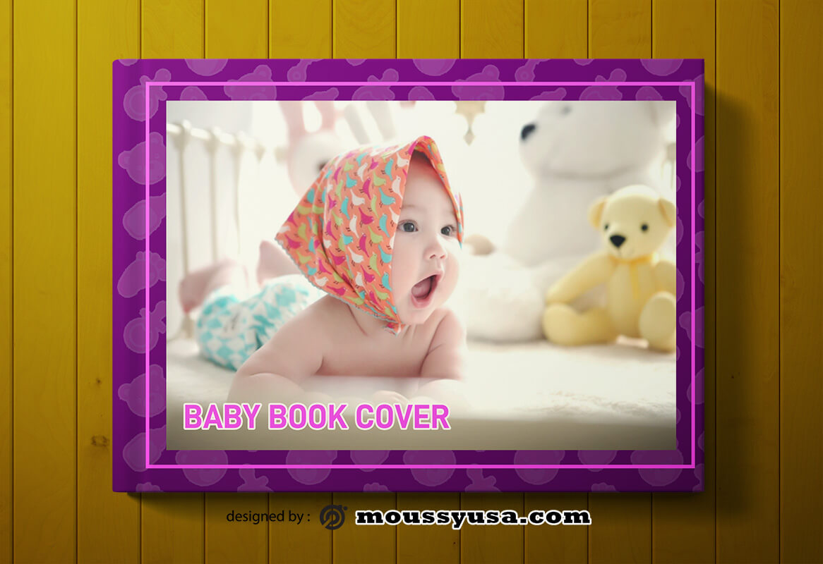 Baby Book Cover Template Ideas