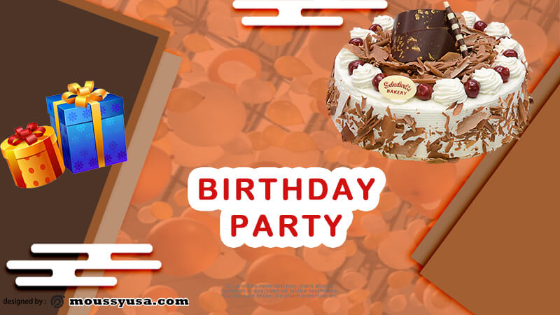 Birthday Party Banner Template Ideas