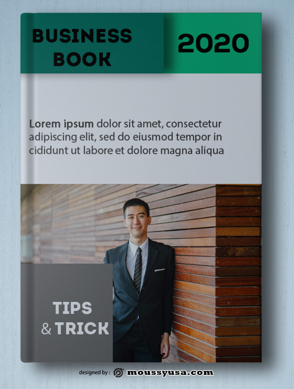 Business Book Cover Template Sample