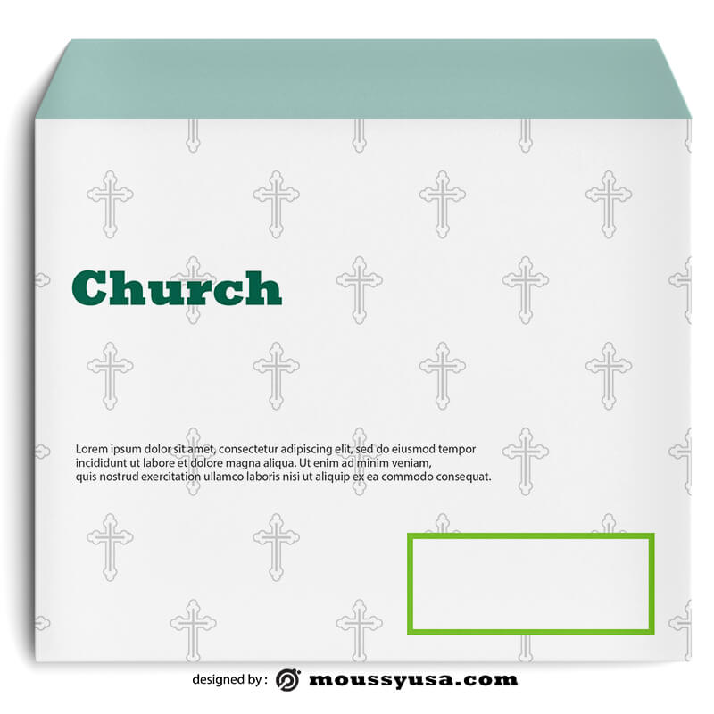 Church Envelope Design Ideas