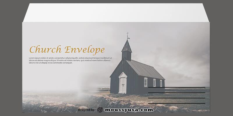 Church Envelope Design Template