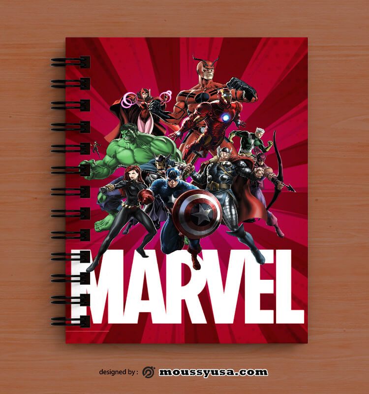 Comic Book Cover Template Ideas