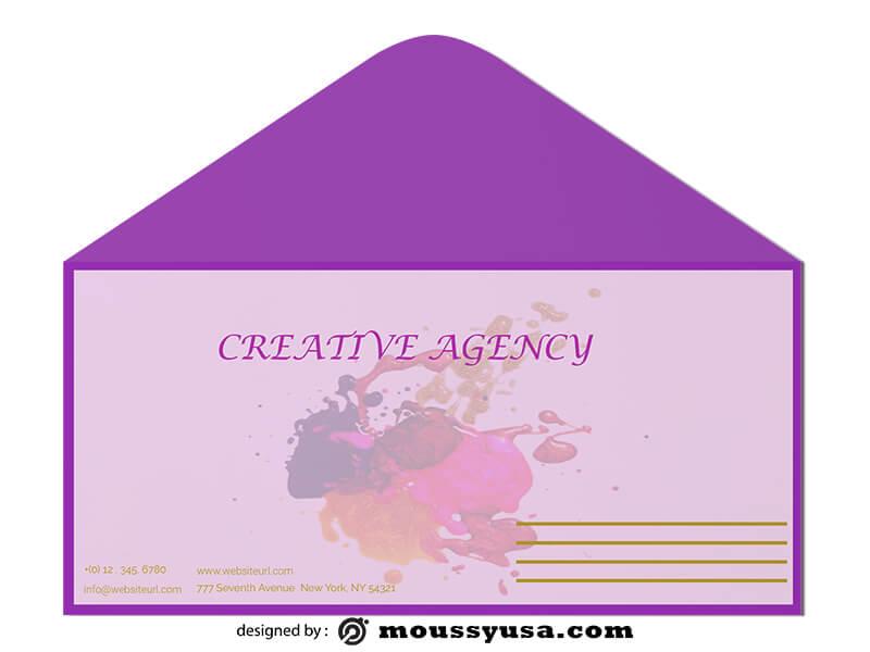 Creative Agency Envelope Design Ideas