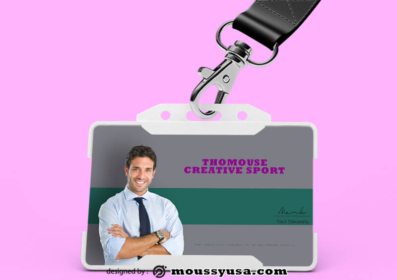 Creative Sport ID Card Template Ideas