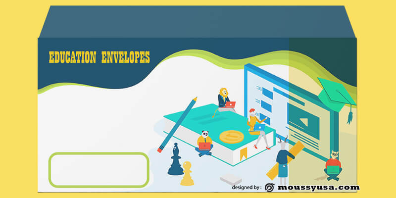 Education Envelope Design Template