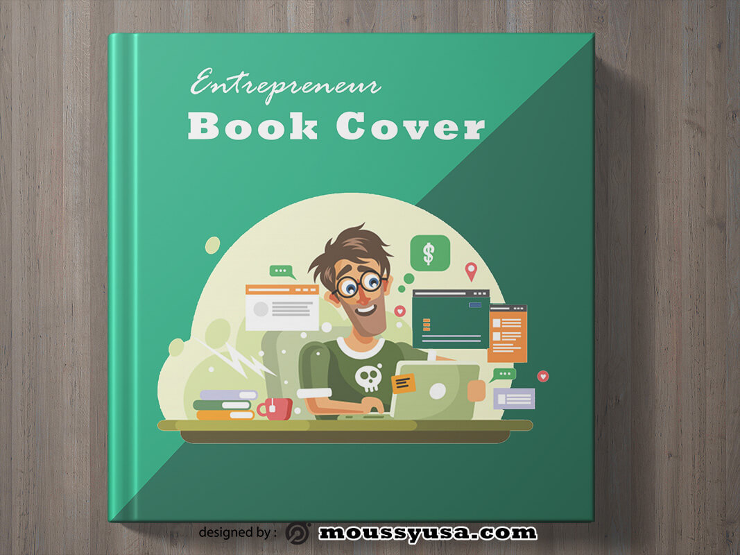 Entrepreneur Book Cover Template Sample