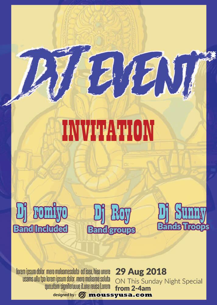 Event Invitation Design Ideas