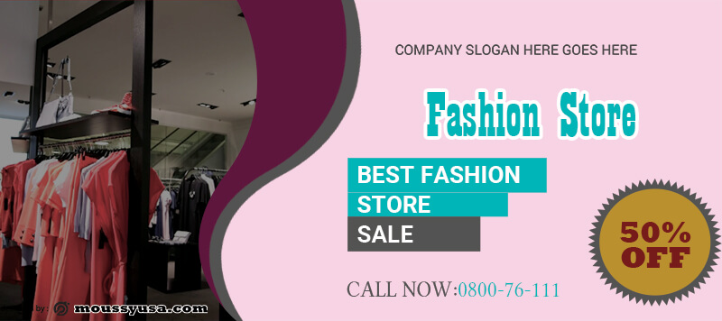 Fashion Banner Design Ideas