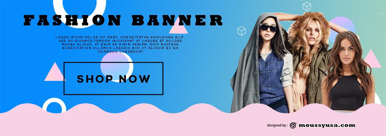 Fashion Banner Design Template