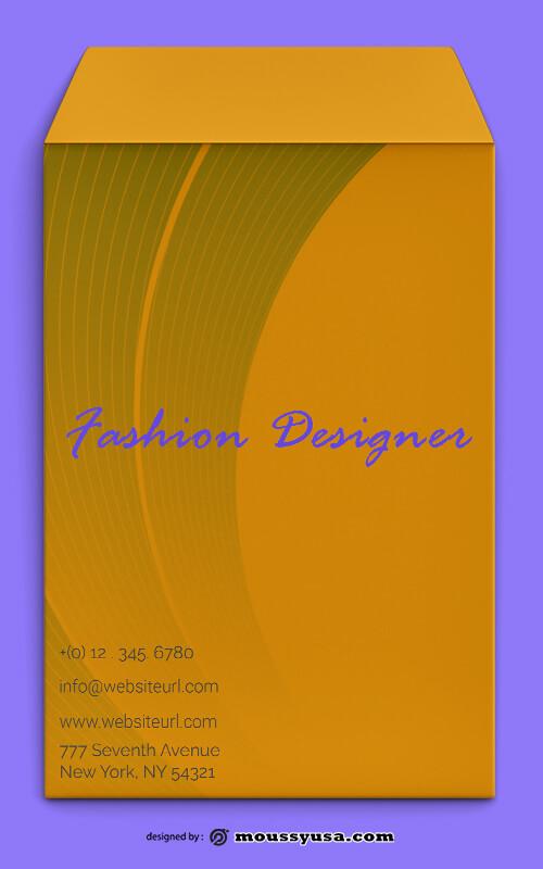 Fashion Designer Envelope Design Ideas