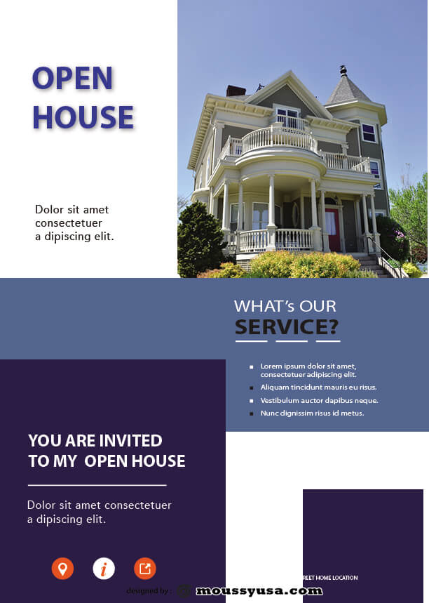Free Home Real Estate Flyer template ideas