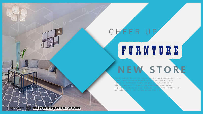 Furniture Banner Template Sample