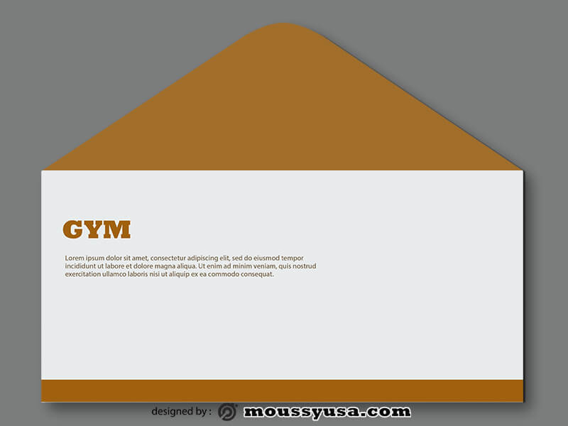 GYM Envelope Design PSD