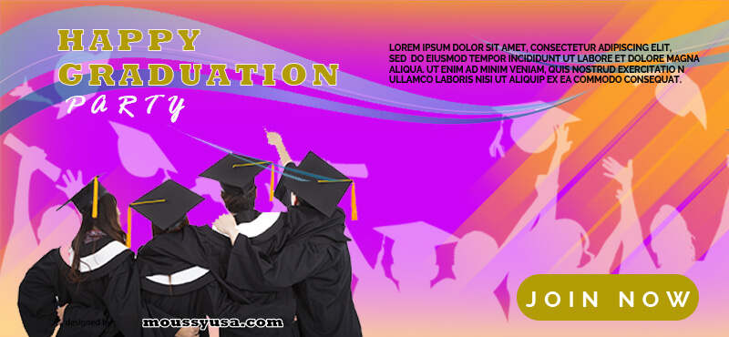 Graduation Banner Template Sample