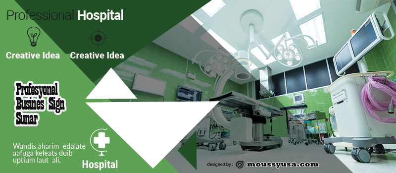 Hospital Banner Template Example