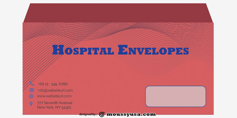 Hospital Envelope Template Example