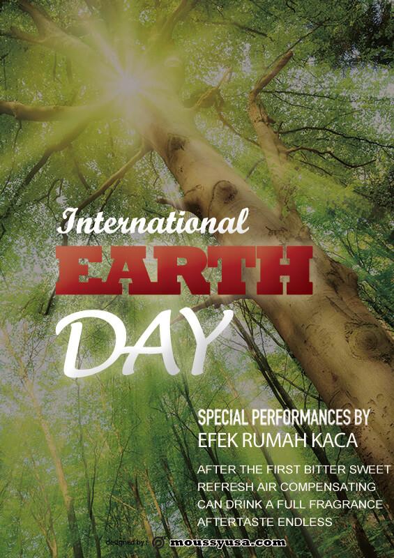 International Earth Day Poster Design Ideas
