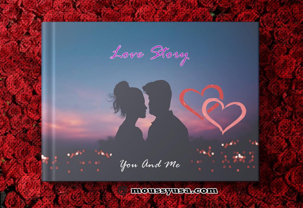 Love Book Story Design Template