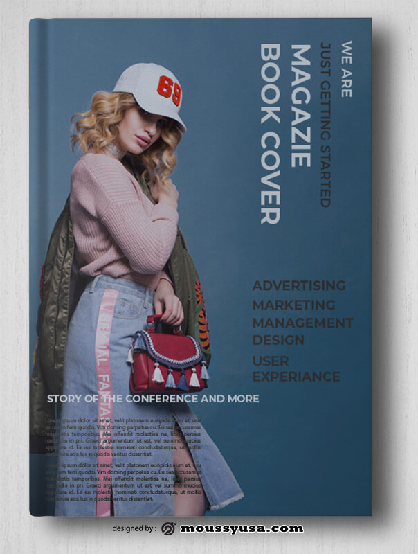 Magazine Book Cover Design Ideas