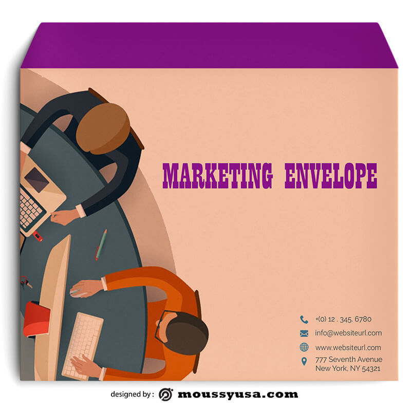 Marketing Envelope Template Example