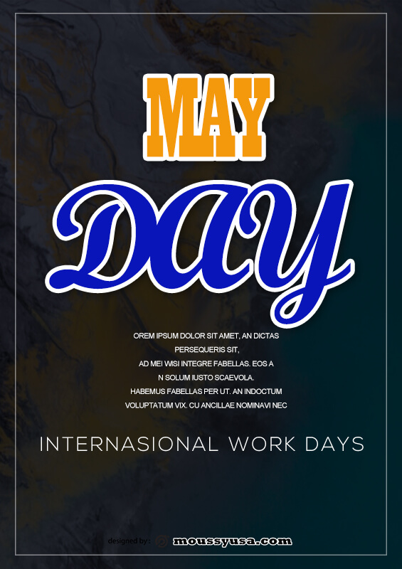 May Day Poster Design Ideas