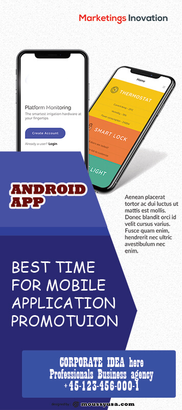 Mobile App Banner Design Ideas