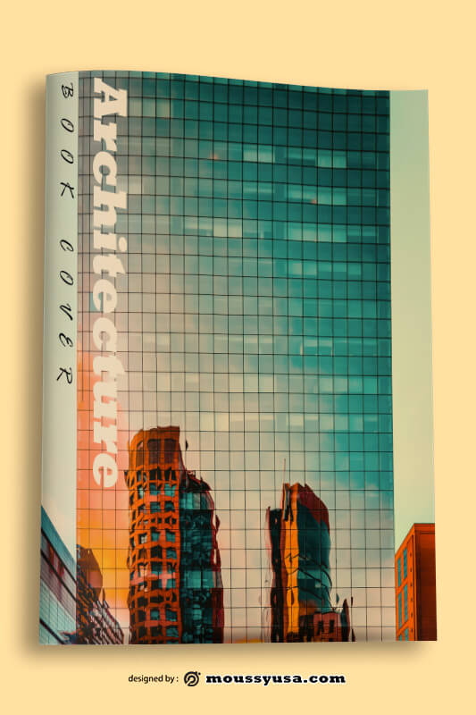 PSD Architecture Book Cover Template