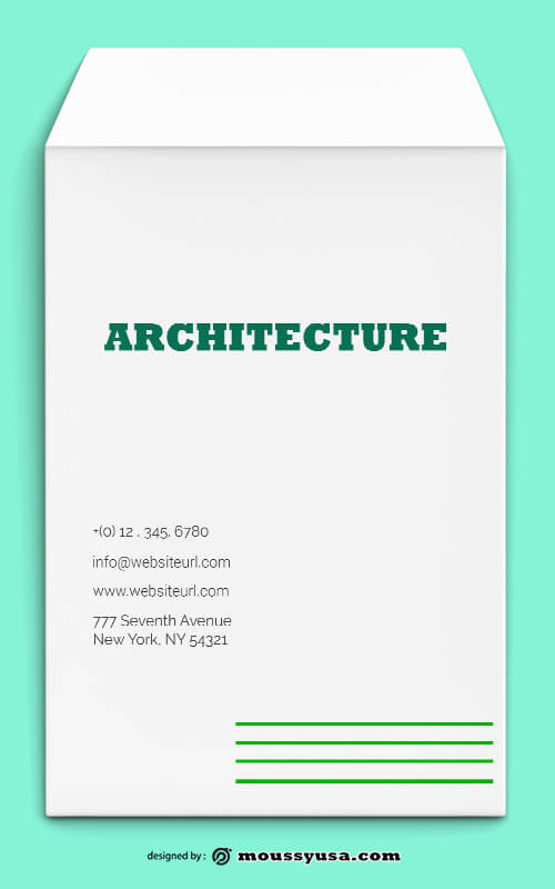 PSD Architecture Envelope Template
