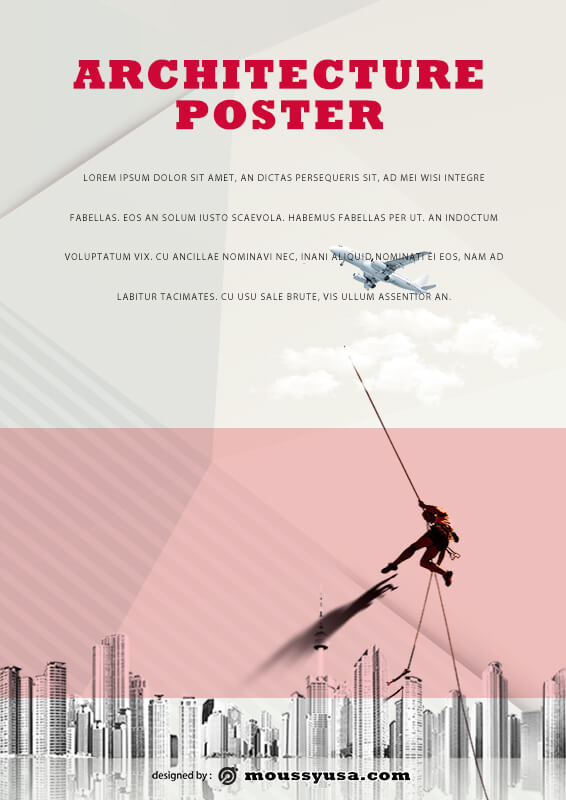 PSD Architecture Poster Template