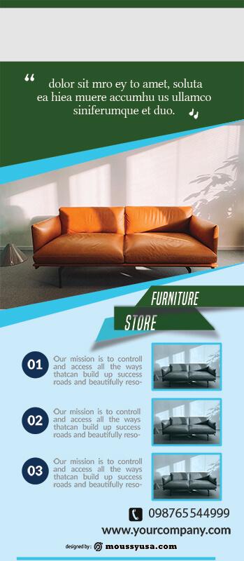 PSD Furniture Banner Template