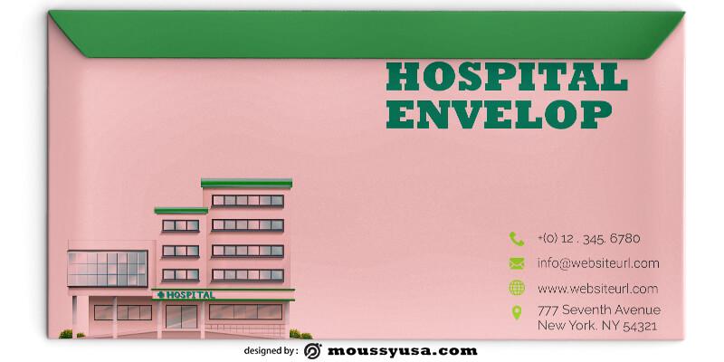 PSD Template For Hospital Envelope
