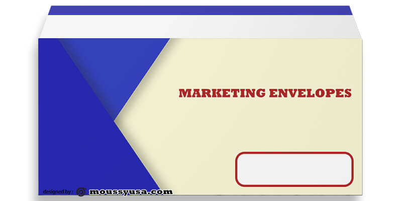 PSD Template For Marketing Envelope