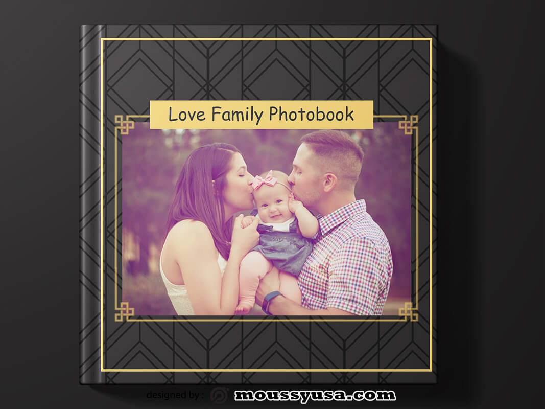 Photobook Cover Template Ideas