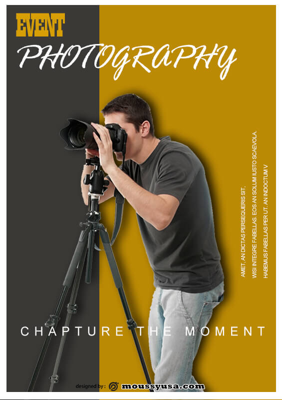 Photography Poster Design Ideas