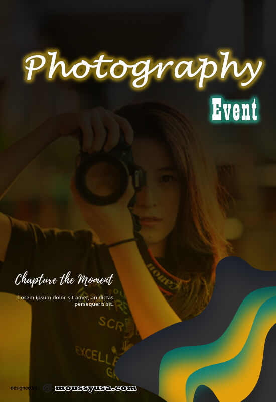Photography Poster Design Template