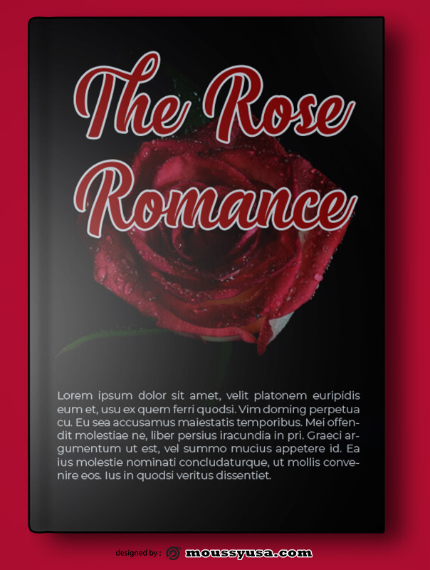 Romance Book Cover Template Sample