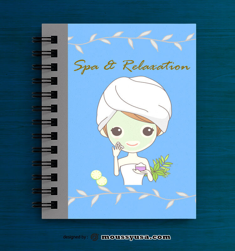 SPA Book Cover Design PSD