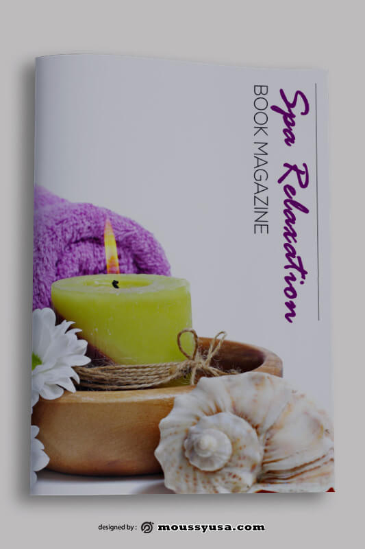 SPA Book Cover Design Template