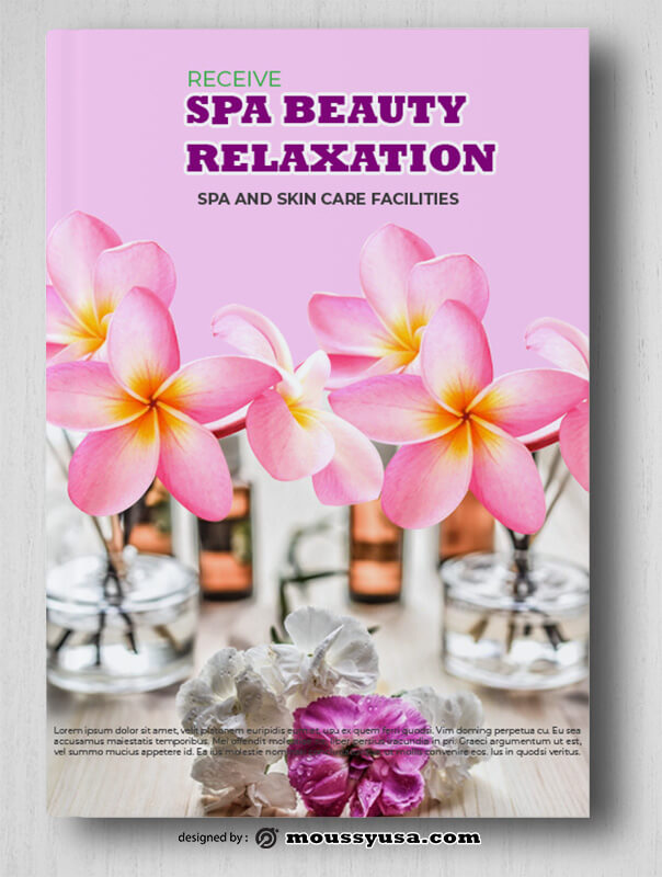 SPA Book Cover Template Example