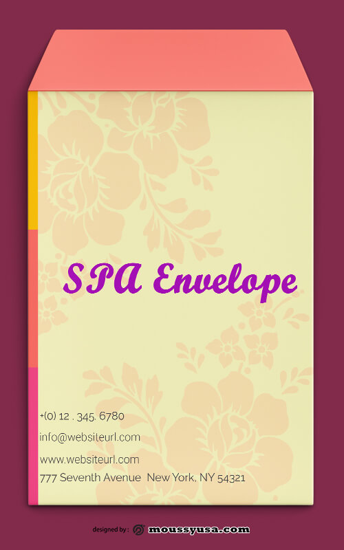 SPA Envelope Template Sample